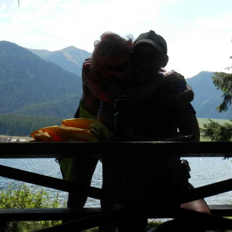 jānis trops ilona tropa par mums pie ezera haidersee italijas alpos otztal alps tyrol