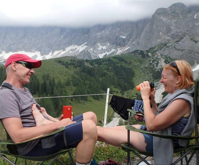 jānis trops ilona tropa par mums dachsteinstrasse austrijas alpos