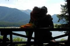 Jānis Trops un Ilona Tropa | Pie ezera Haidersee Itālijas Alpos